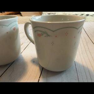 Corelle Calico Rose Mugs